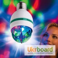 Лампа LED Mini Party Light цветомузыка