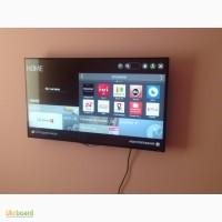 Повесим ваш телевизор LED на стену.Донецк и пригород. Распаковка, первый запуск, монтаж тв