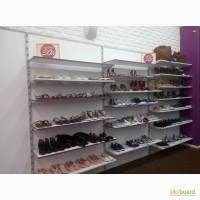Торговое оборудование (стеллажи) б/у для одежды (в любой комплектации)