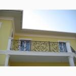 Металические кованные каркасы лестниц, кованые перила, ограждения, навесы, ворота