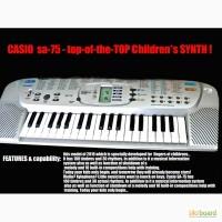 Casio SA-75. Продам прекрасный детский синтезатор