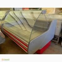 Продам витрины холодильные универсальные (-5+5 С) б/у 2 шт по 1, 6 м