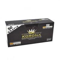 Сигаретные гильзы Korona 550 штук, фильтр 15 мм