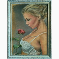 Картина автора Аромат свежести-пастель, 70х50
