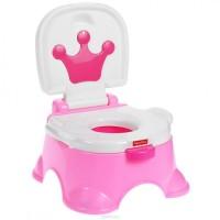 Fisher-Price Королевский горшок, цвет: розовый