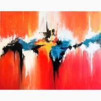 Продам картину в абстрактном стиле