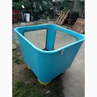 Ванны транспортировочные для рыбы пластиковые б/у