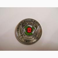 Новая Зеландия-50 центов (2018) #039;Перемирие 1918-2018#039;