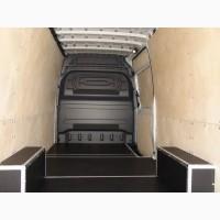 Обшивка салона грузового фургона фанерой, алюминием рифленым