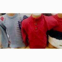 Тёплый свитер для мальчиков 4-8 лет, Турция, полушерсть, цвета разные
