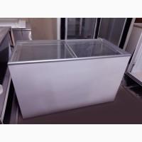 Морозильный ларь (камера) на 6 корзин под стеклом