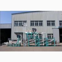 Линия по очистке, шелушению и сепарации семян подсолнечника TFKH-1500-1