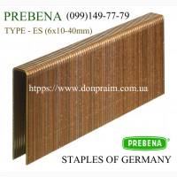 Скоба 6 мм / ES Prebena для пневмостеплера импортная