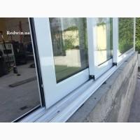 Алюминиевая раздвижная дверь с покраской