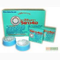 Отбеливающая зубная паста 5STAR4A из Таиланда