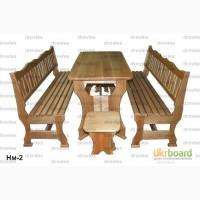 Набор мебели / Стол и 2 скамейки