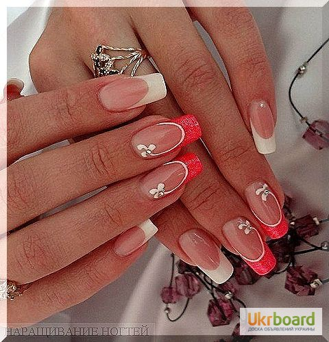 Дизайн красивых ногтей фото френч