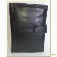 3350 Кожаное мужское портмоне Лопата