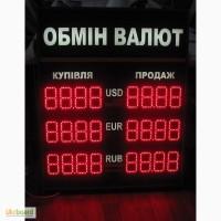 Реклама бегущая строка, Табло обмена валют, Аптечні хрести