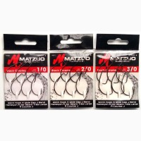 Крючки офсетные Matzuo X-tra Wide Gap J Bend Hook