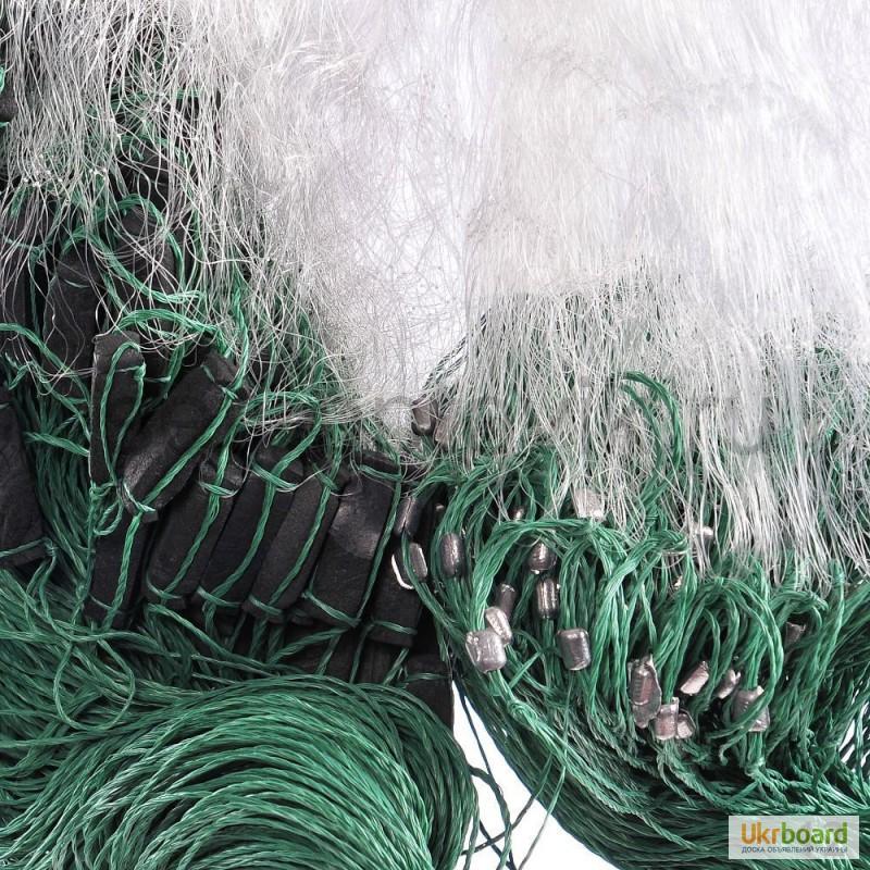сетка рыбацкая трехстенная 1.5 100 ячейка 100 цена украина