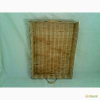 Поднос плетёный из лозы (подарок или декорирование)