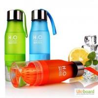 Классная бутылка для воды H2O, будь свежее