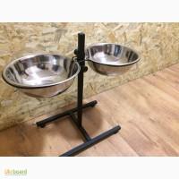 Миски для кормления собак на штативе 3 литра