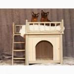 БУДКИ для собак.Кроватки домики кормушки для животных