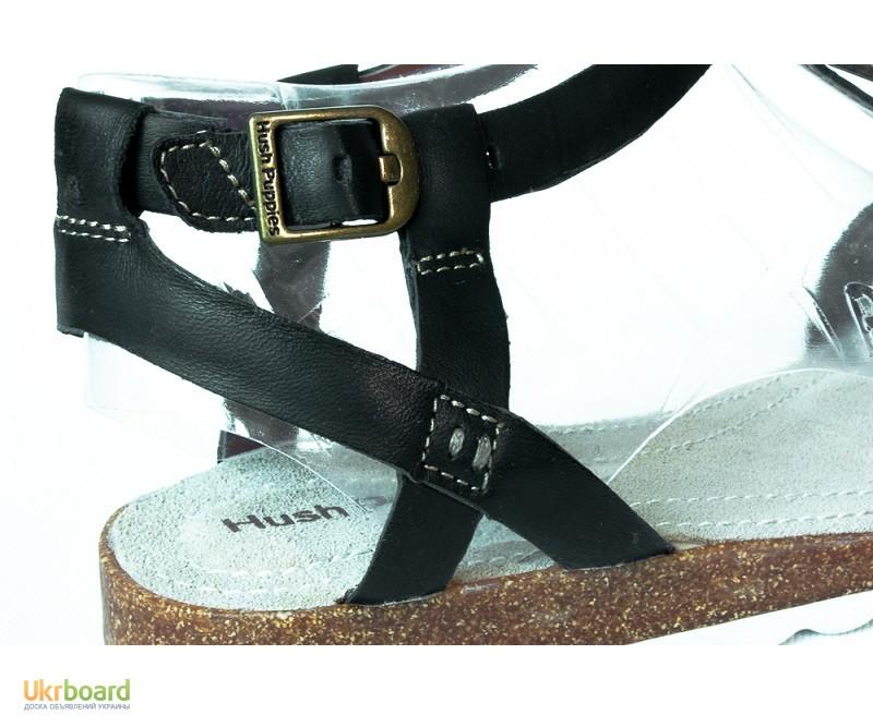 Фото 5. 245 мм Hush Puppies Bretta Jade кожаные женские сандалии черные