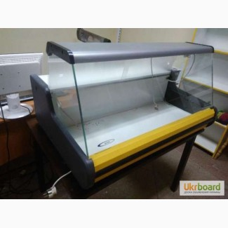 Витрина холодильная настольная Росс Parma длинной 1 метр новая