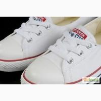 Продам женские кеды-балетки Converse белые