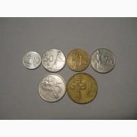 Монеты Словакии (6 штук)
