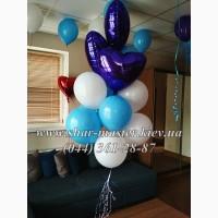 Воздушные шары в Вишневом, Крюковщине, шарики с конфетти, фотозона из шаров