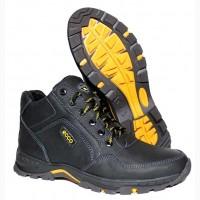 Зимние мужские ботинки ЕССО из натуральной кожи + подарки