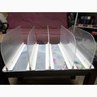 Перегородки с органичного стекла бу, купить стеклянные перегороки-разделители б/у