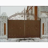 Недорогие ворота, калитки