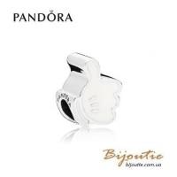 PANDORA шарм DISNEY ― перчатка микки 797179EN12 оригинал