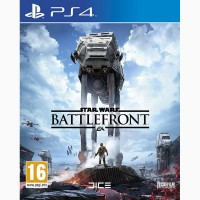STAR WARS Battlefront PS4 диск / РУС версия