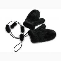 Норковые рукавицы, варежки норковые. Меховые рукавички из меха норки