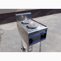 Б.у электрическая промышленная плита 2-х конфорочная Lotus PC-4ET бу в кафе