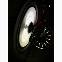 Светящиеся трубки на спицы колес Вашего велосипеда