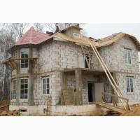 Строительство домов коттеджей, копка котлованов, сливных ям, мини прудов