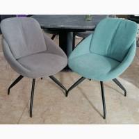 Договорная цена торг кресло стул R-65 поворачивается мятный цвет обивка флок