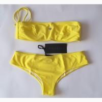 Лимонного цвета купальник richmond 44 размер, s, италия