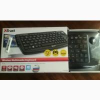 Новая Беспроводная клавиатура Trust
