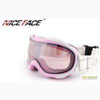 Горнолыжные маски Nice Face 925 Pink
