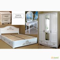 Роскошная деревянная мебель для спальни Виктория