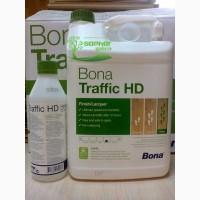 Лак паркетный полиуретановый Bona Traffic HD Бона Трафик ХД 5л