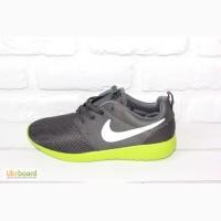 Мужские кроссовки Nike Roshe Run (Grey Green)